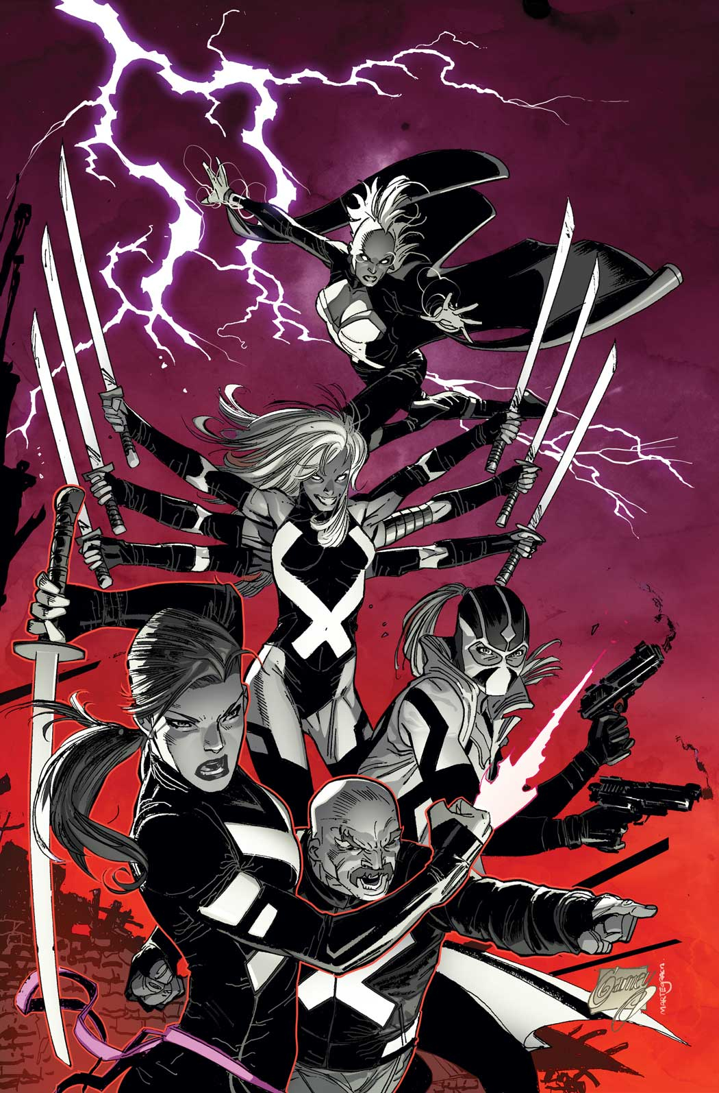 UNCANNY X-FORCE #1 GARNEY VAR NOW