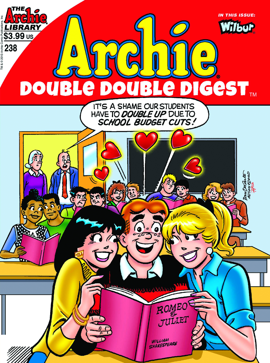 ARCHIE DOUBLE DIGEST #238 DOUBLE DOUBLE (NOTE PRICE)