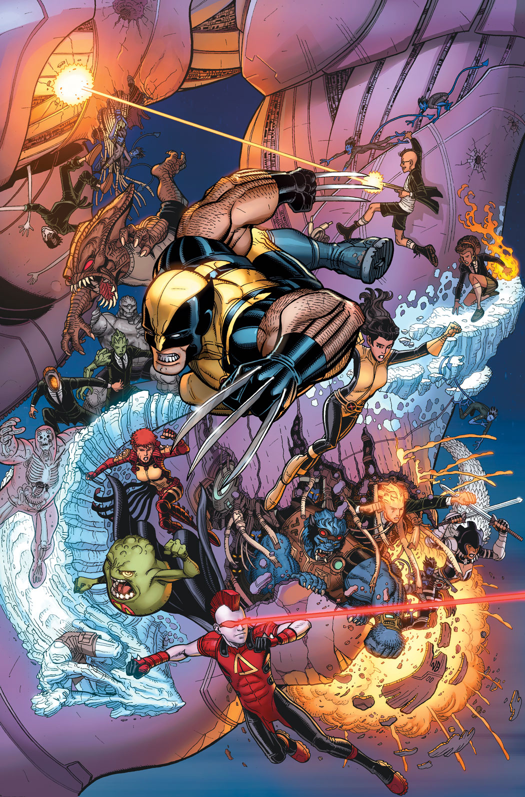 ALL NEW X-MEN #7 50TH ANNIVERSARY VAR NOW2