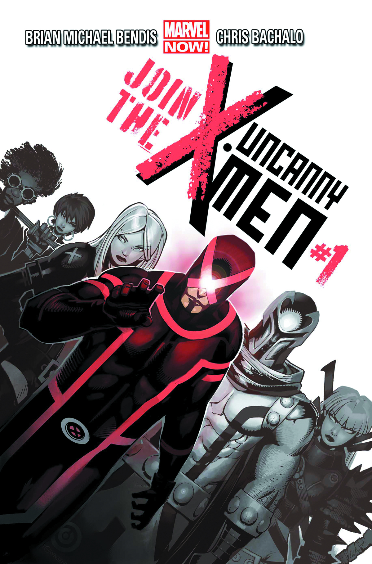 UNCANNY X-MEN #1 BLANK VAR NOW