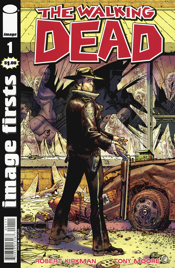 IMAGE FIRSTS WALKING DEAD CURR PTG #1 (O/A) (MR)