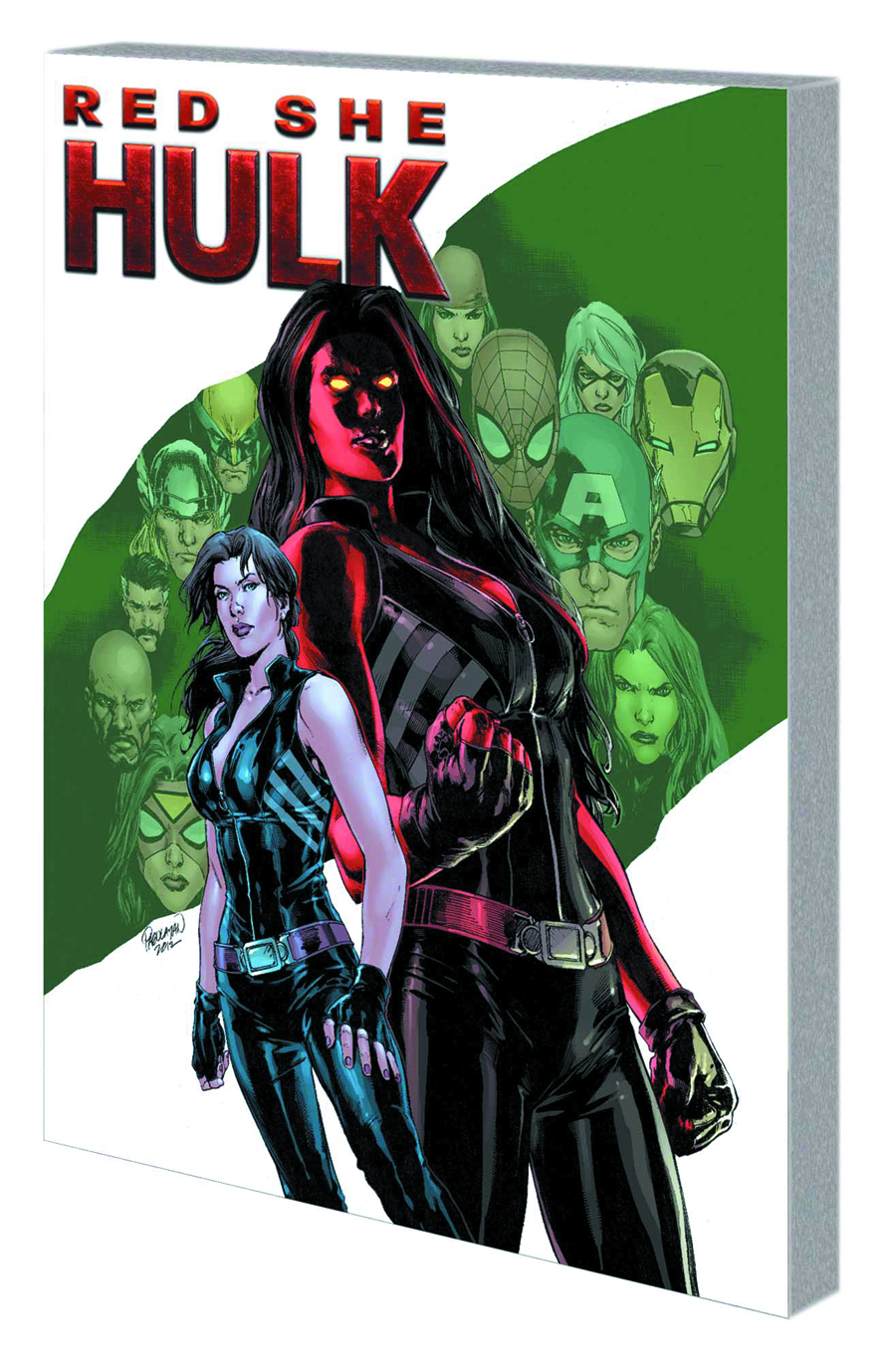 RED SHE-HULK TP HELL HATH NO FURY NOW