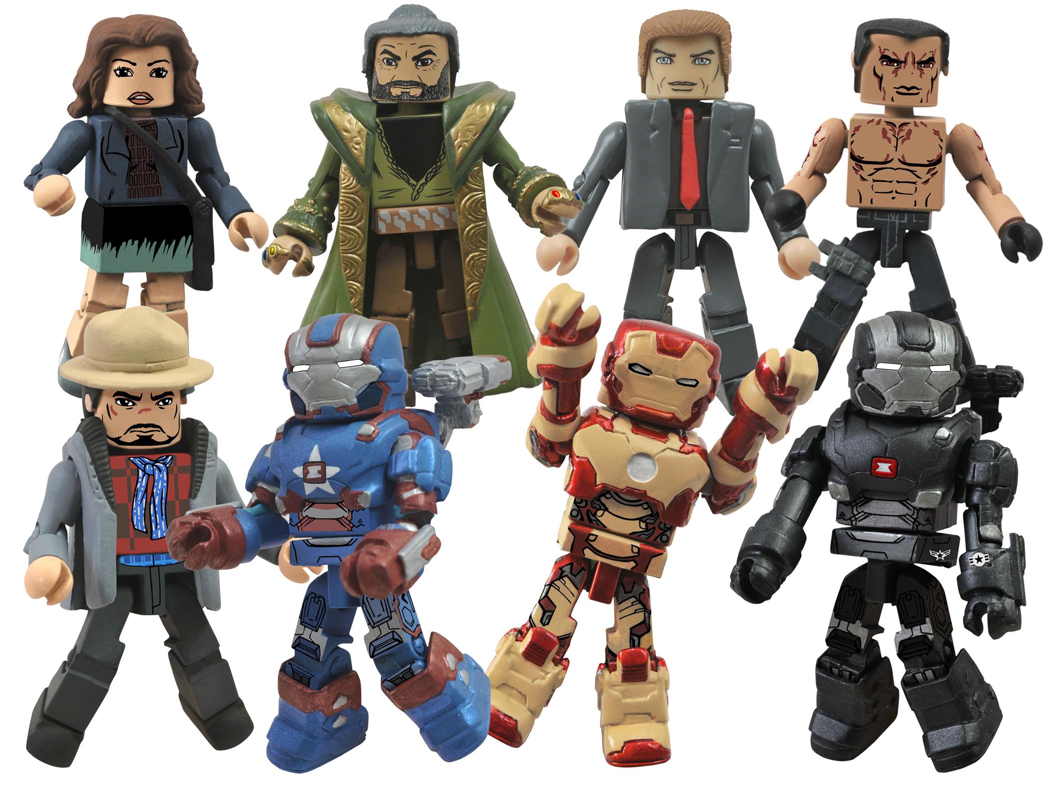 Marvel Minimates Series 49 Iron Man 3 Movie Aldrich Killian