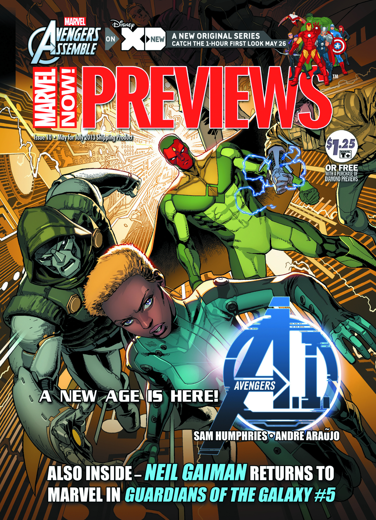 MARVEL PREVIEWS MAY 2013 EXTRAS
