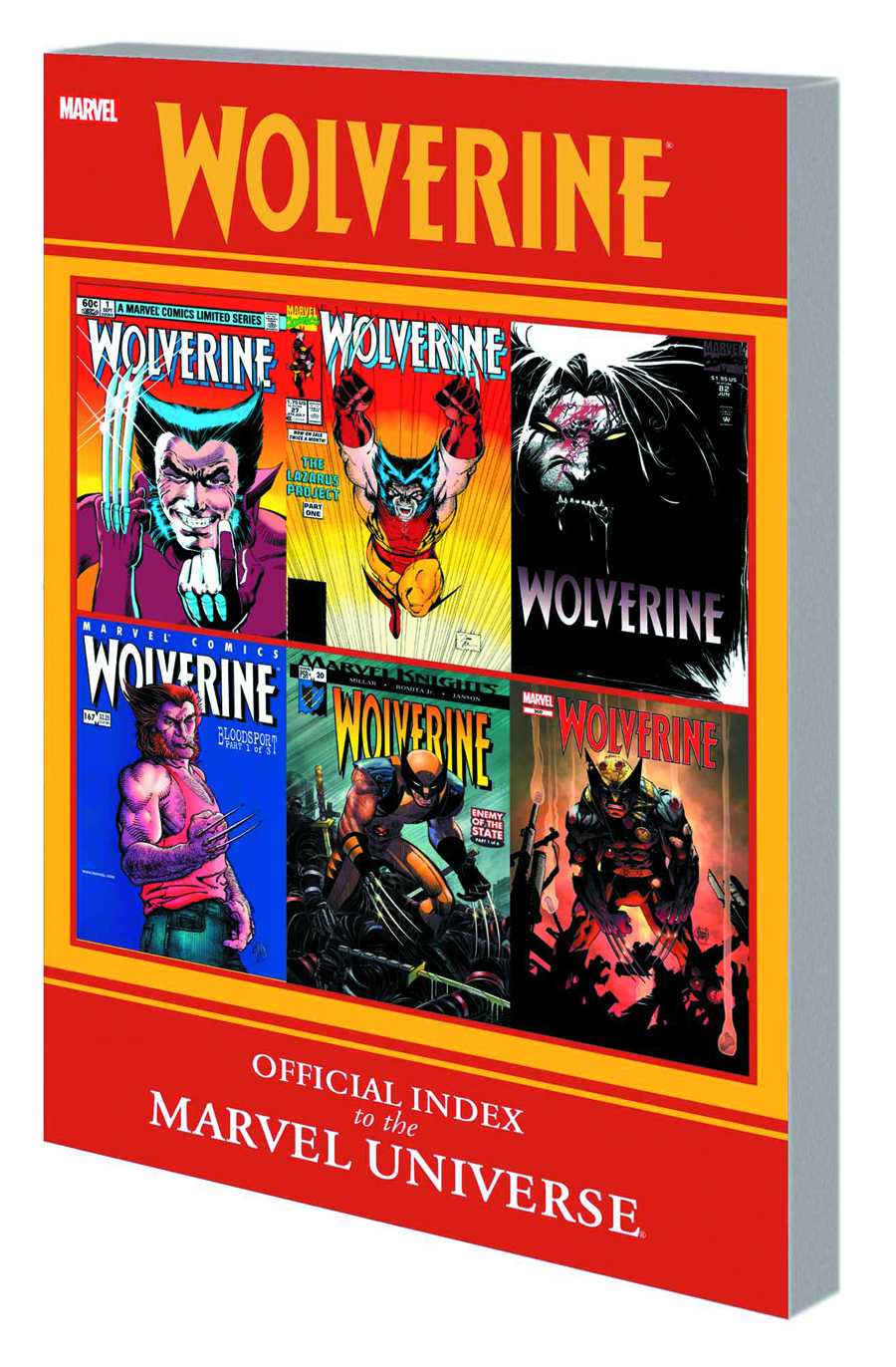 WOLVERINE OFFICIAL INDEX TO MARVEL UNIVERSE GN TP