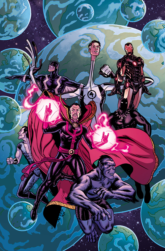 NEW AVENGERS #5 QUINONES VAR NOW