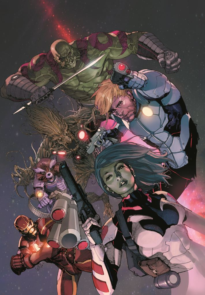 GUARDIANS OF GALAXY #3 YU VAR NOW
