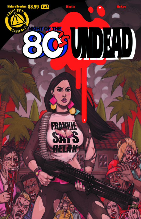 NIGHT OF THE 80S UNDEAD #1 (OF 3) (MR)