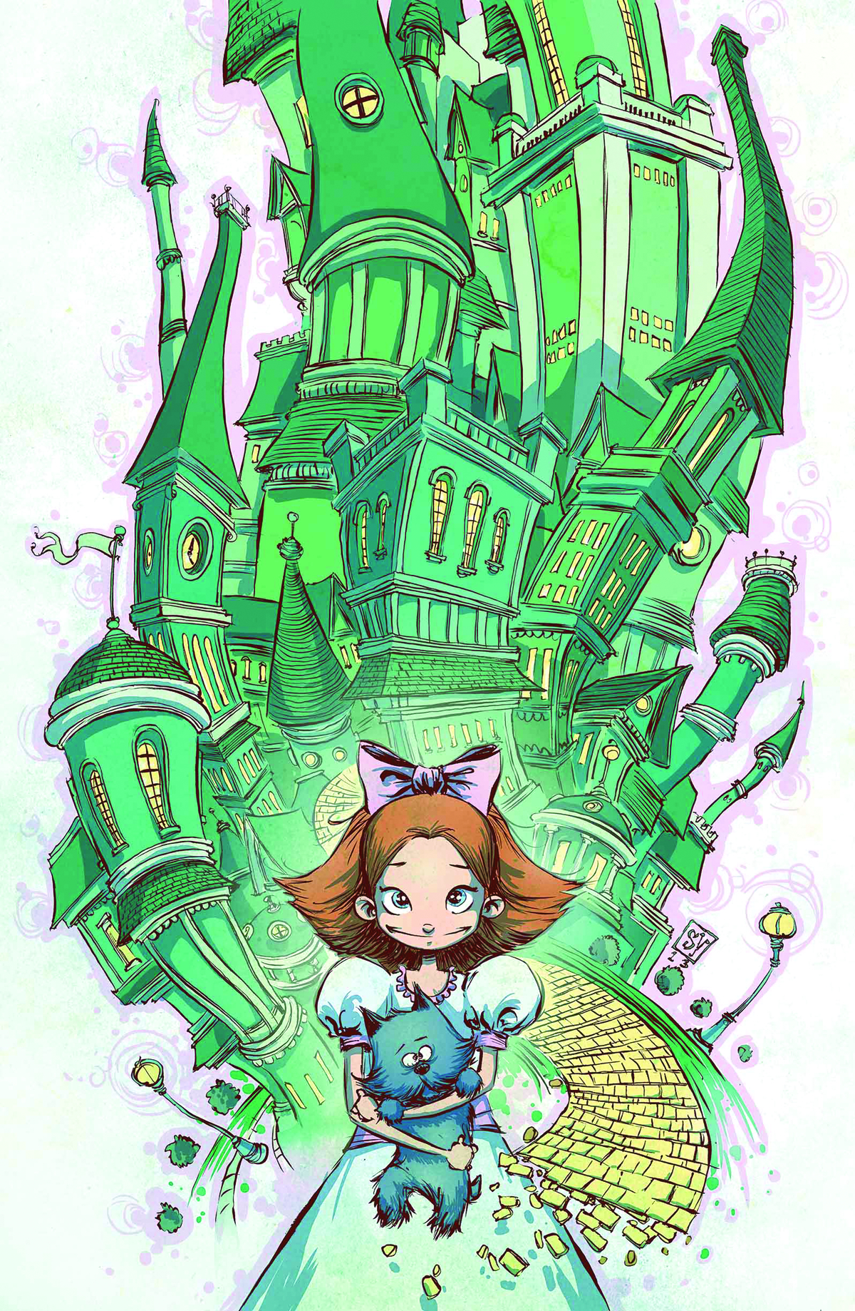 EMERALD CITY OF OZ #1 (OF 5)