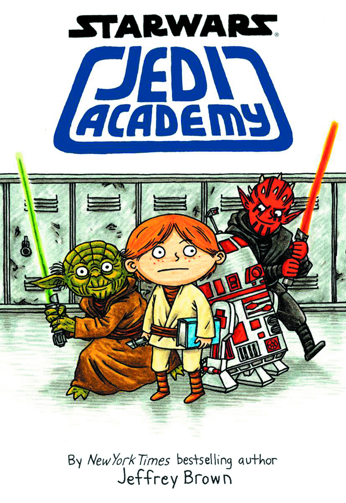 STAR WARS JEDI ACADEMY YR HC VOL 01