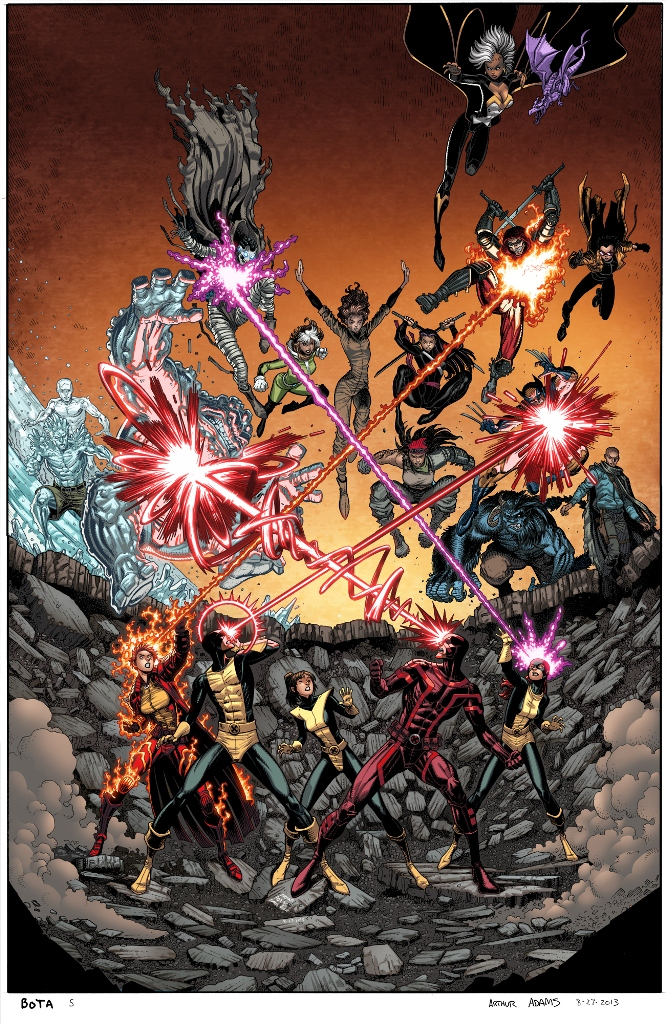 WOLVERINE AND X-MEN #36 BOA