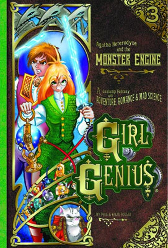 GIRL GENIUS TP VOL 03 AGATHA AND THE MONSTER ENGINE (NEW PTG