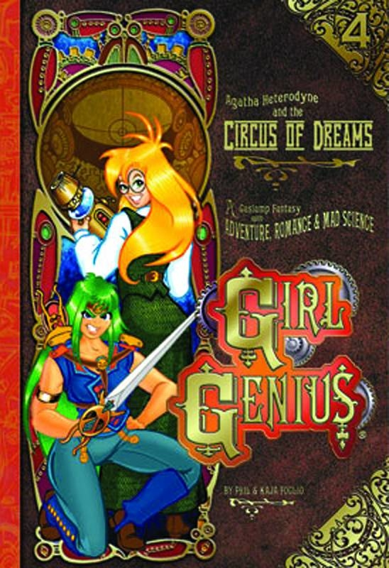 GIRL GENIUS TP VOL 04 CIRCUS OF DREAMS (NEW PTG)