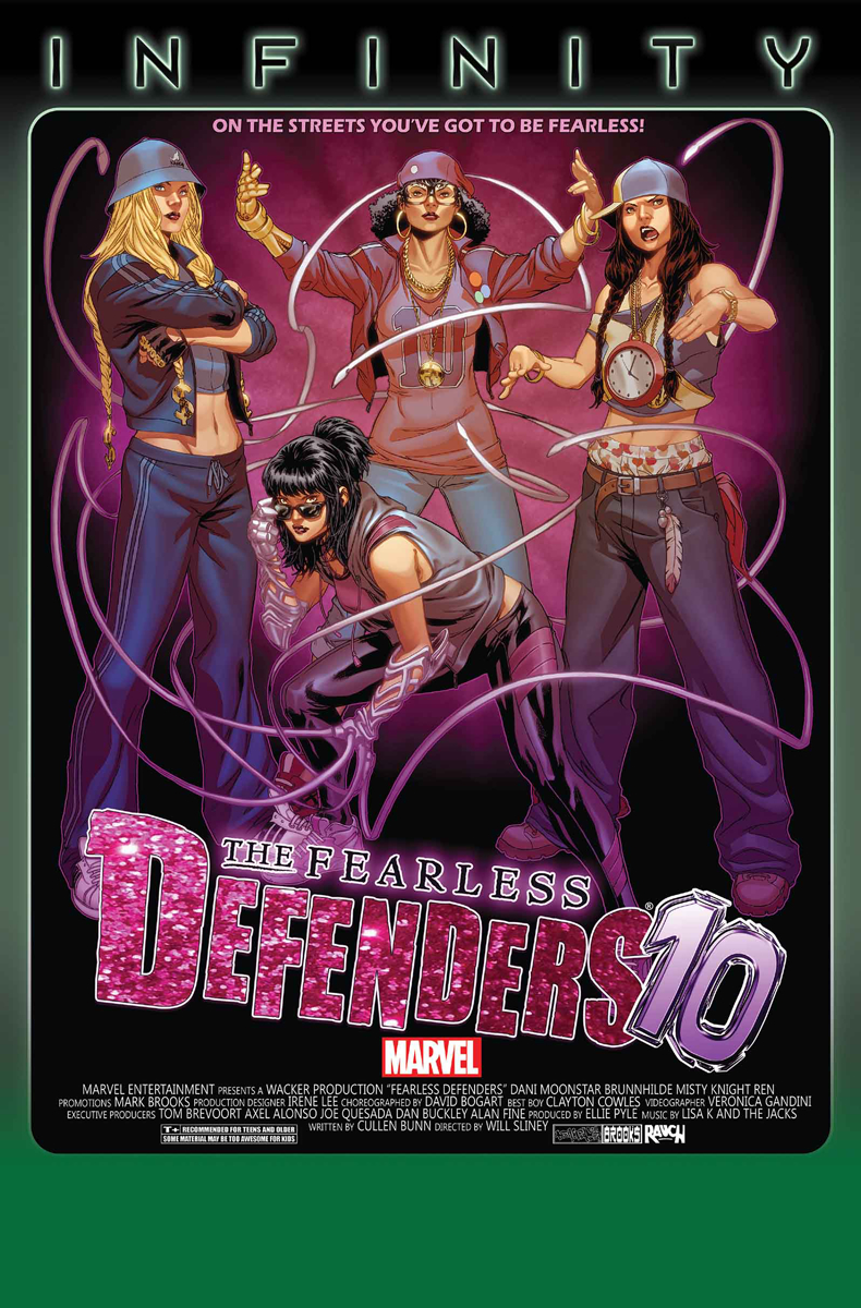 FEARLESS DEFENDERS #10 INF