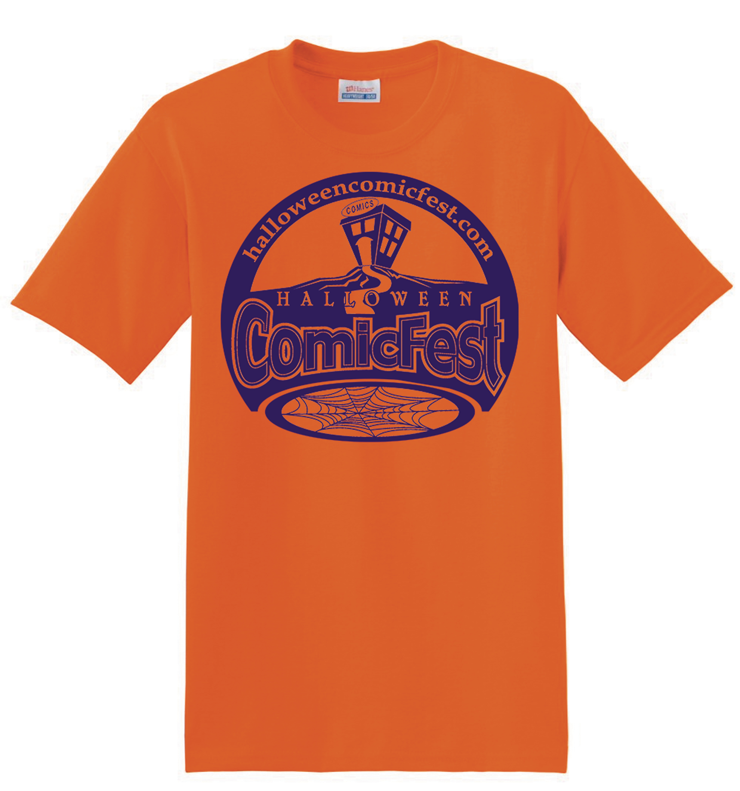 HCF ORANGE LOGO T-SHIRT XXXL