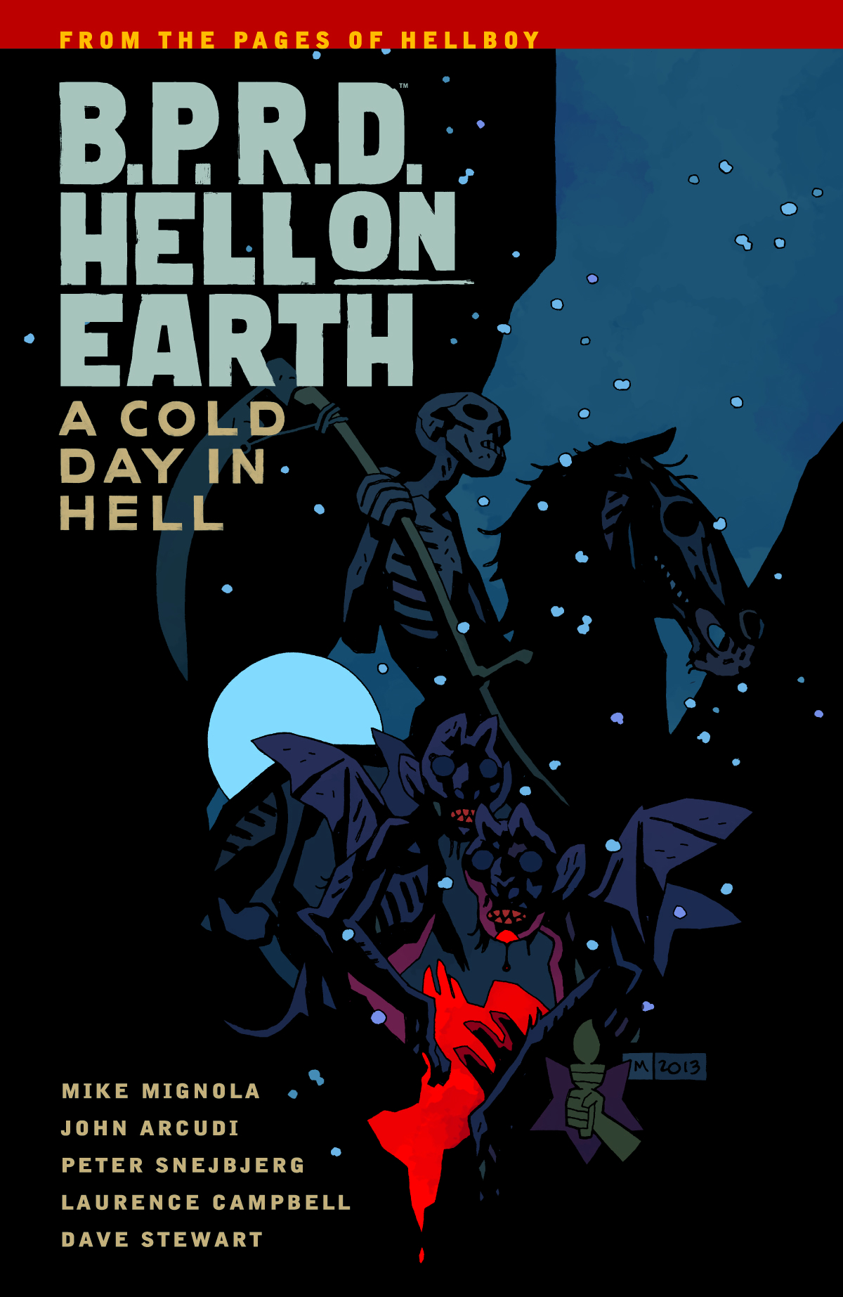 BPRD HELL ON EARTH TP VOL 07 A COLD DAY IN HELL