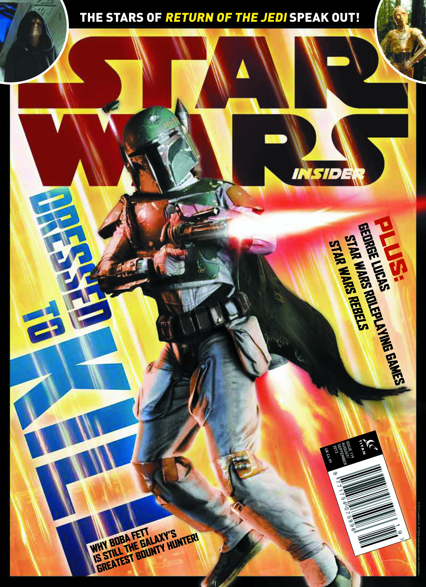 STAR WARS INSIDER #146 NEWSSTAND ED