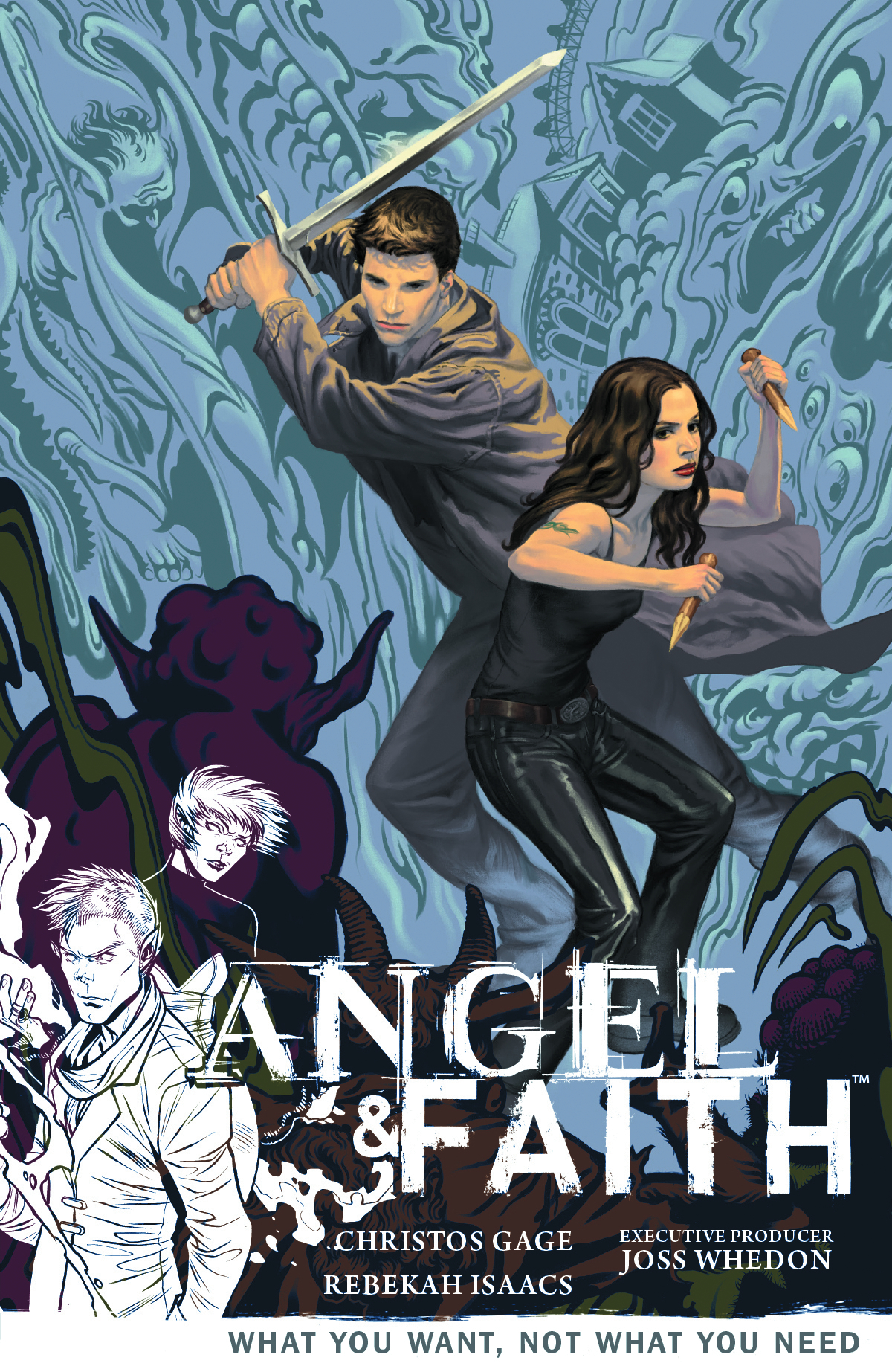 ANGEL & FAITH TP VOL 05 WHAT YOU WANT NOT WHAT YOU NEED