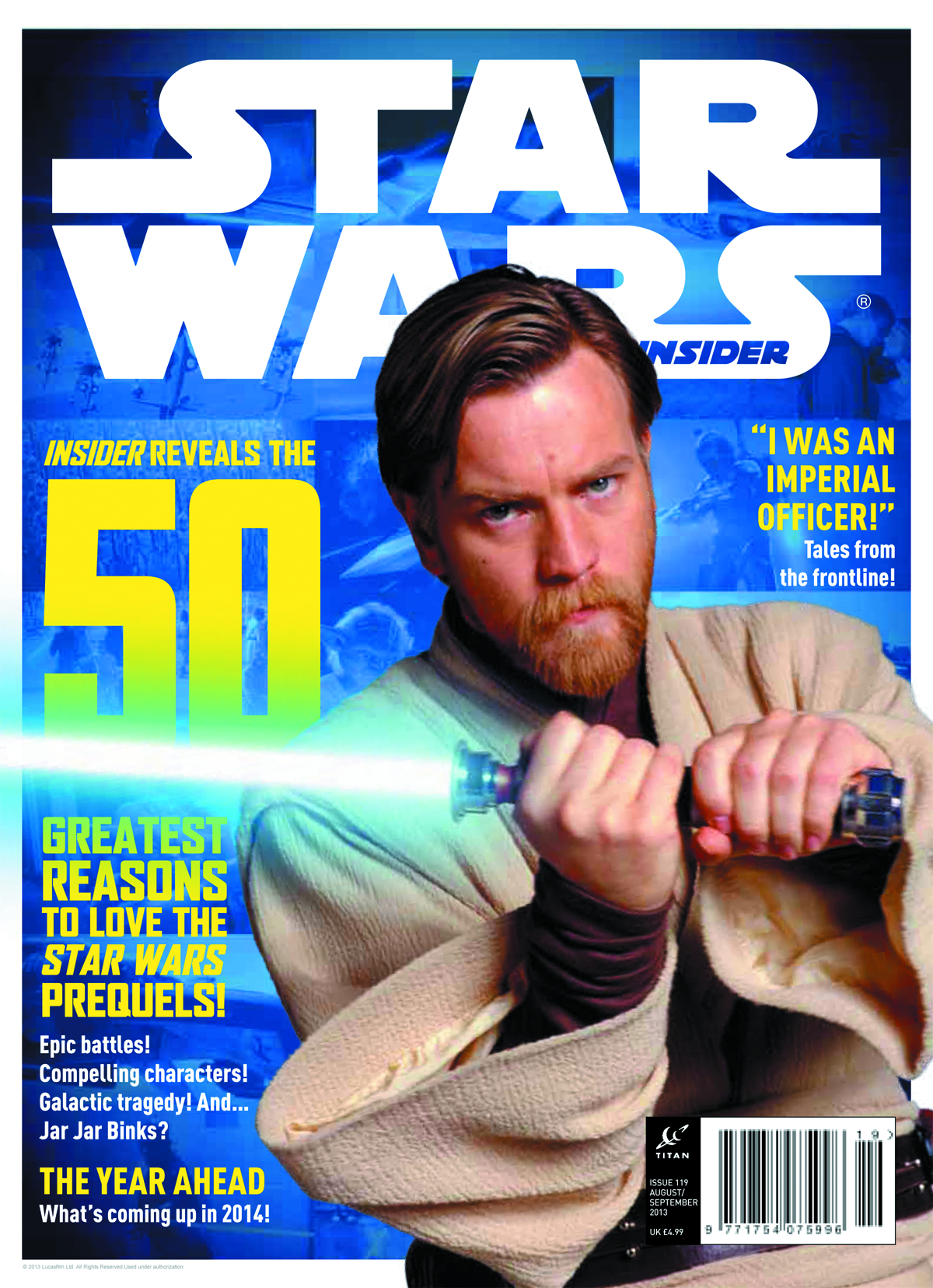 STAR WARS INSIDER #147 NEWSSTAND ED