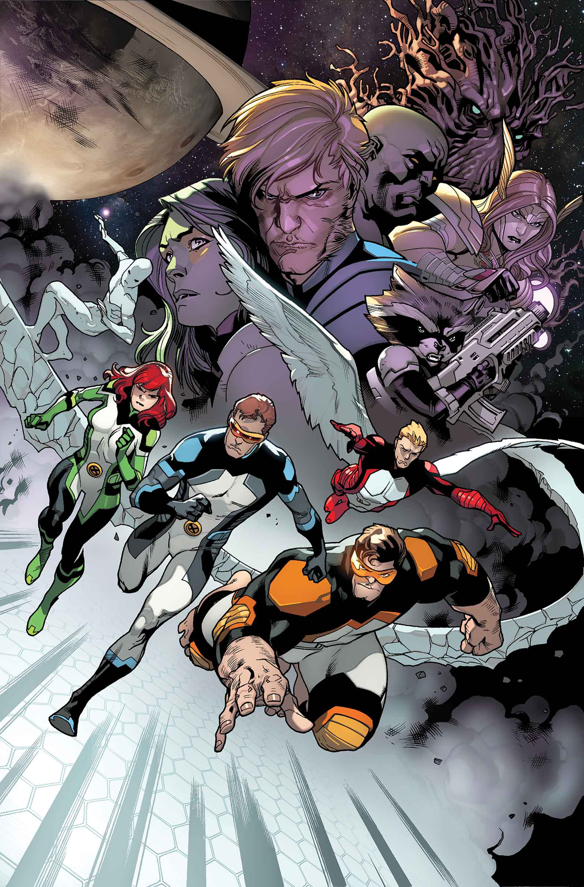 ALL NEW X-MEN #22.NOW BLANK VAR ANMN