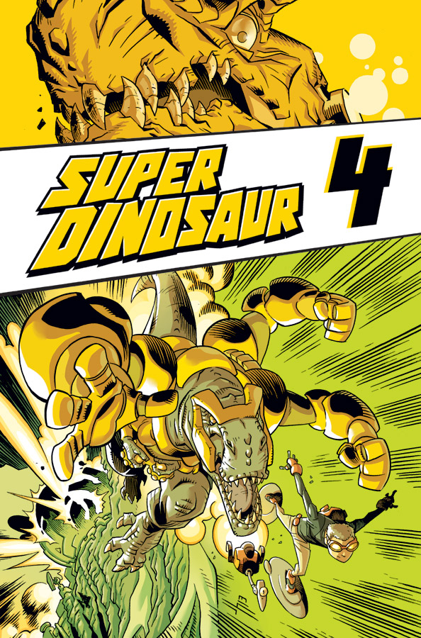 SUPER DINOSAUR TP VOL 04 (NOV130456)