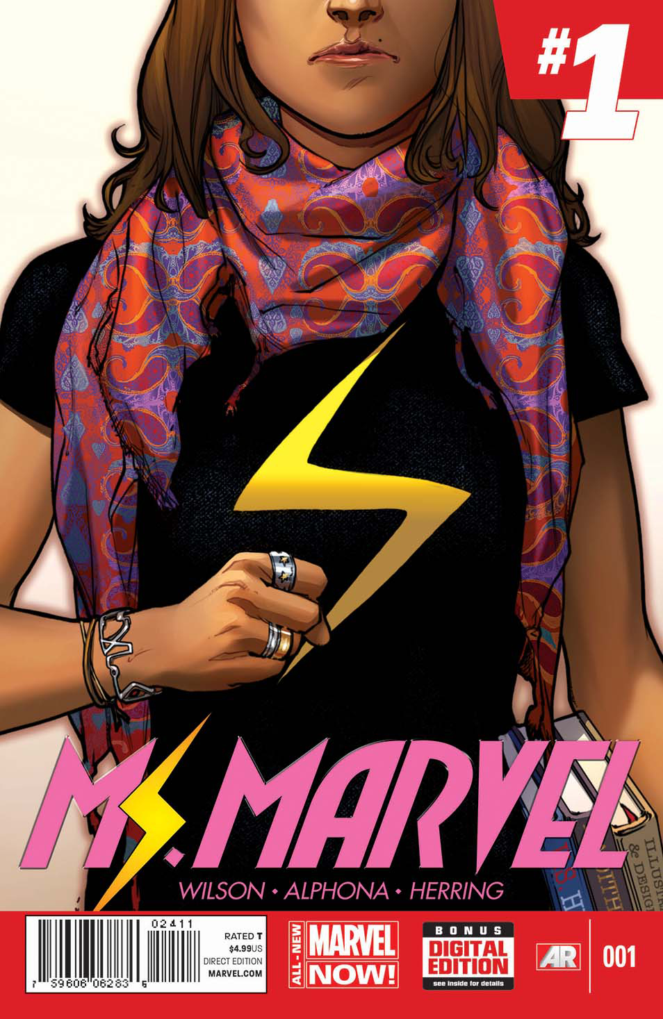 MS MARVEL #1 ANMN