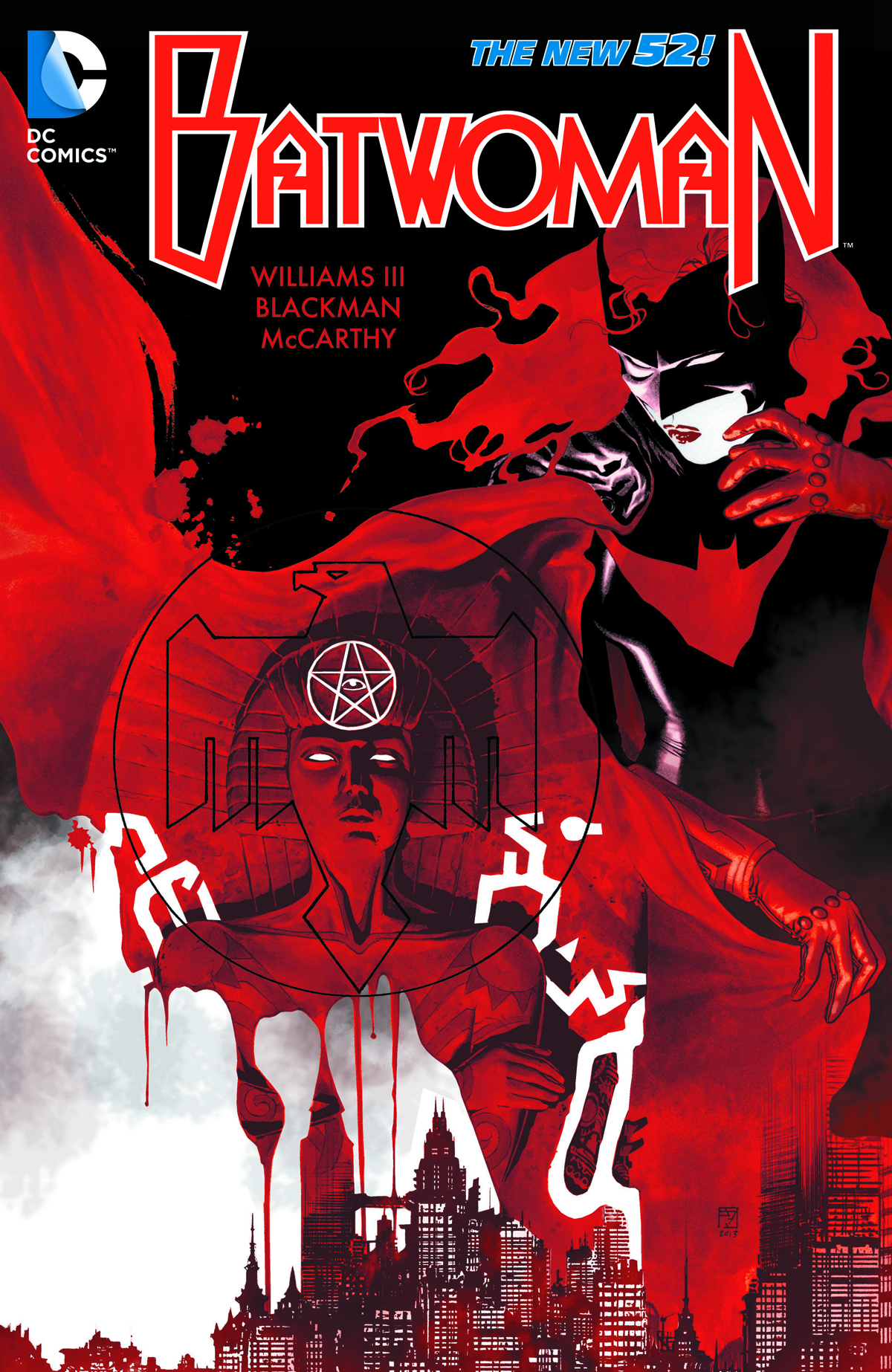BATWOMAN HC VOL 04 THIS BLOOD IS THICK (N52)