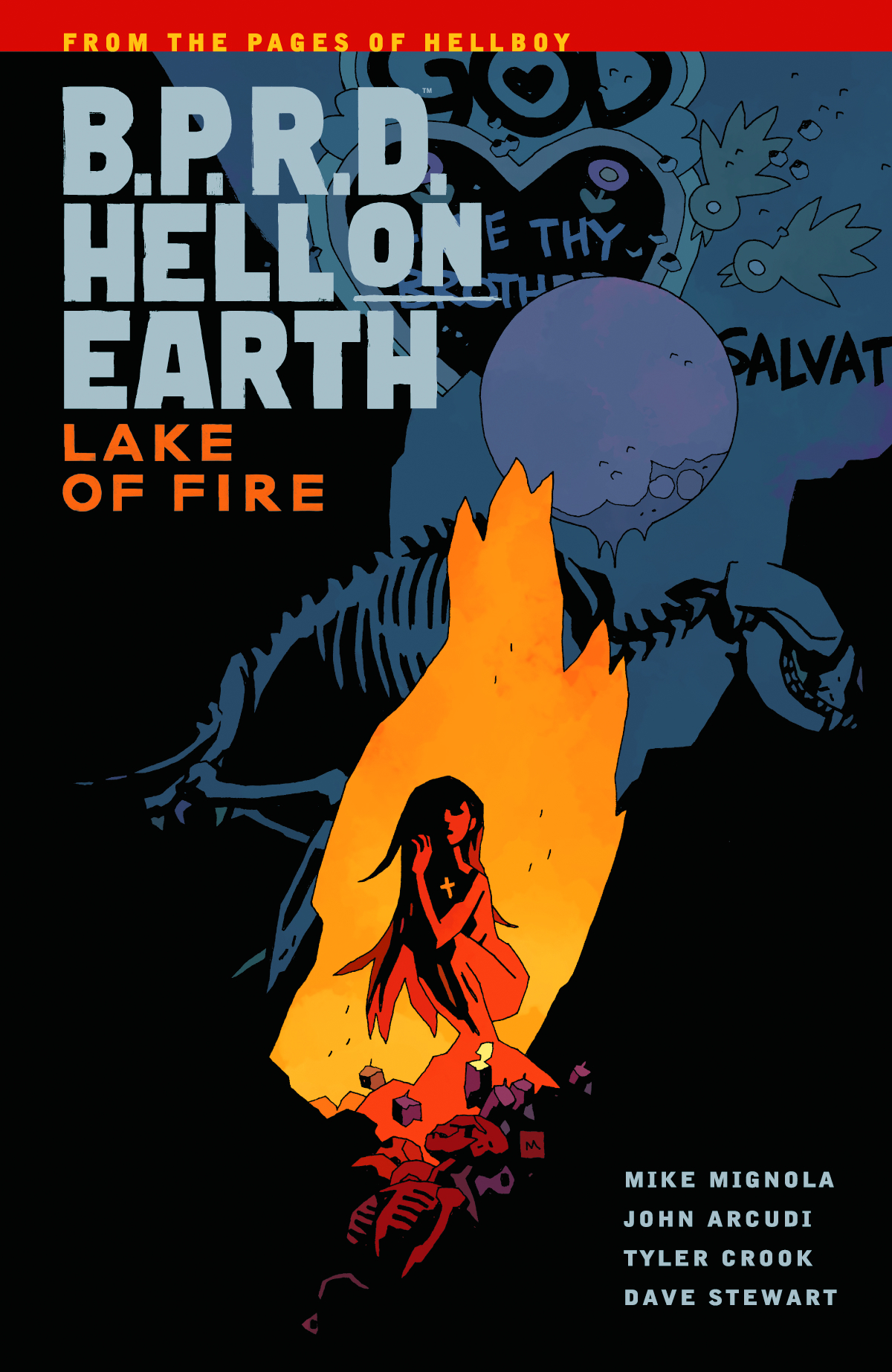 BPRD HELL ON EARTH TP VOL 08 LAKE OF FIRE
