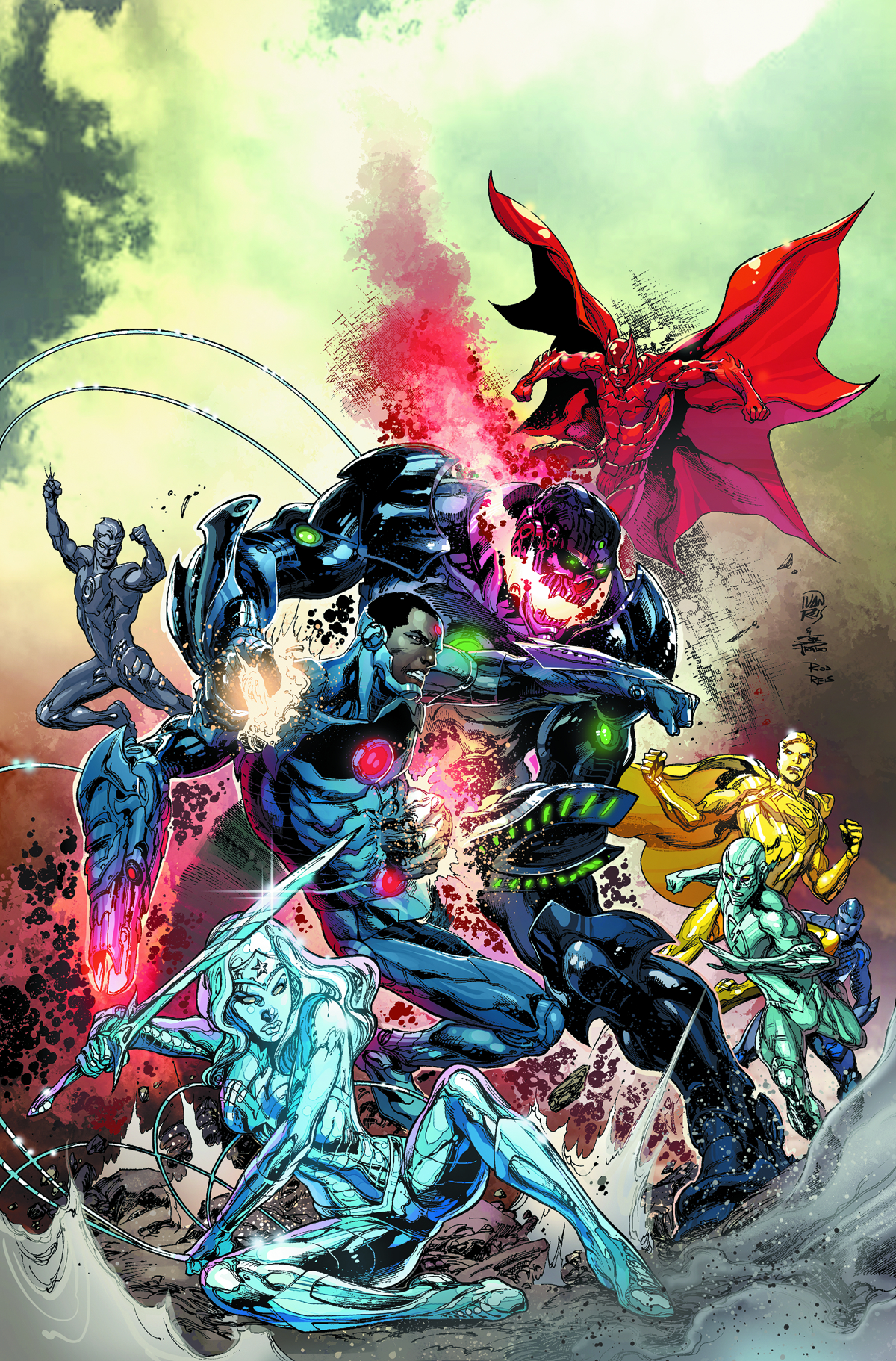 JUSTICE LEAGUE #29 COMBO PACK (EVIL)