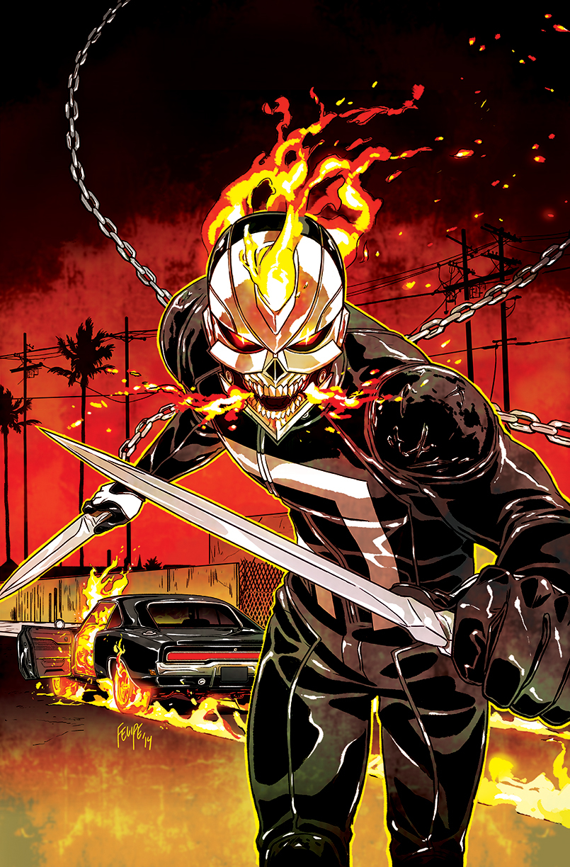 ALL NEW GHOST RIDER #2 SMITH VAR ANMN