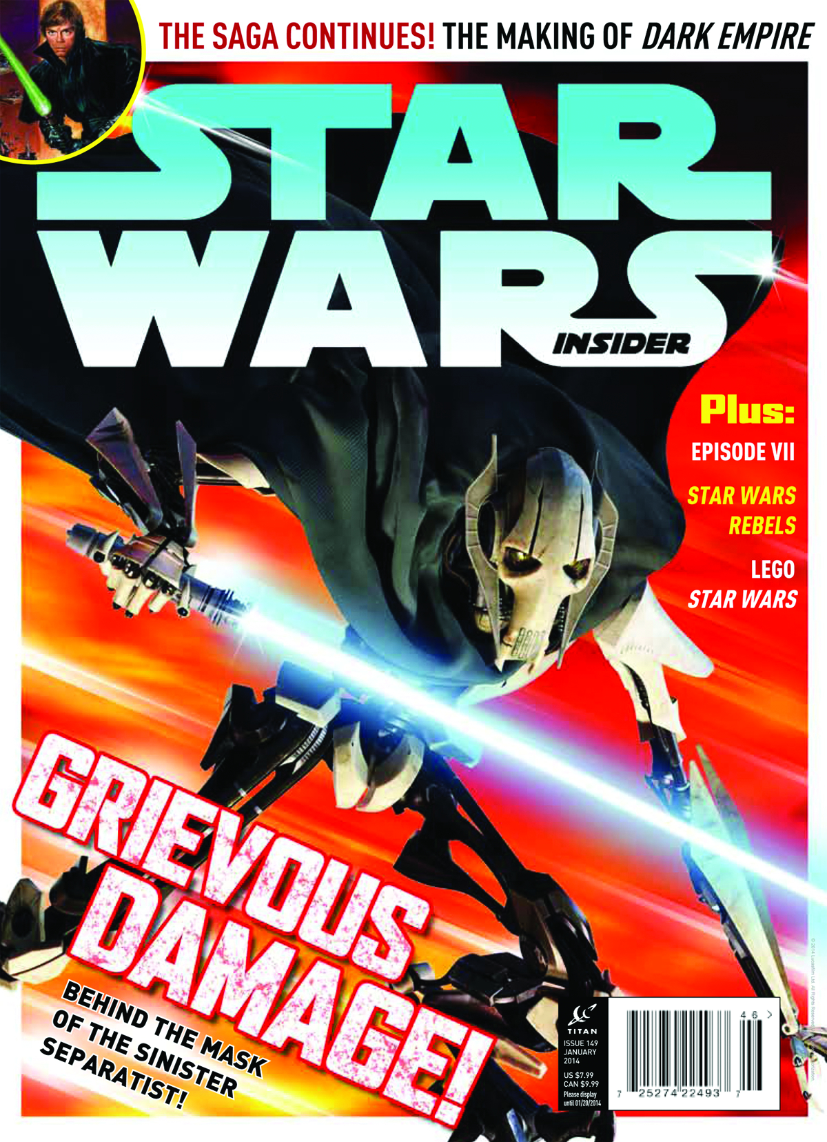 STAR WARS INSIDER #149 NEWSSTAND ED