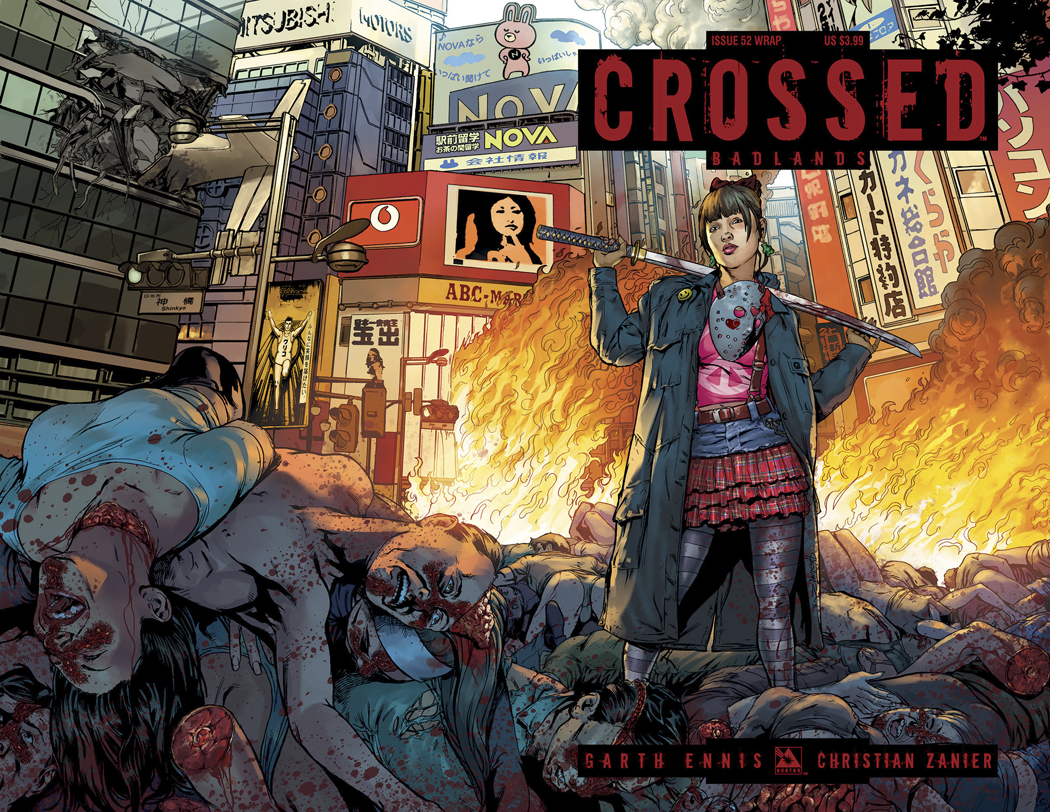 CROSSED BADLANDS #52 WRAP CVR (MR)