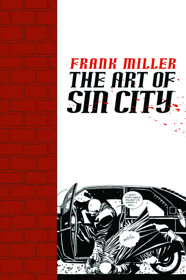 FRANK MILLER ART OF SIN CITY TP