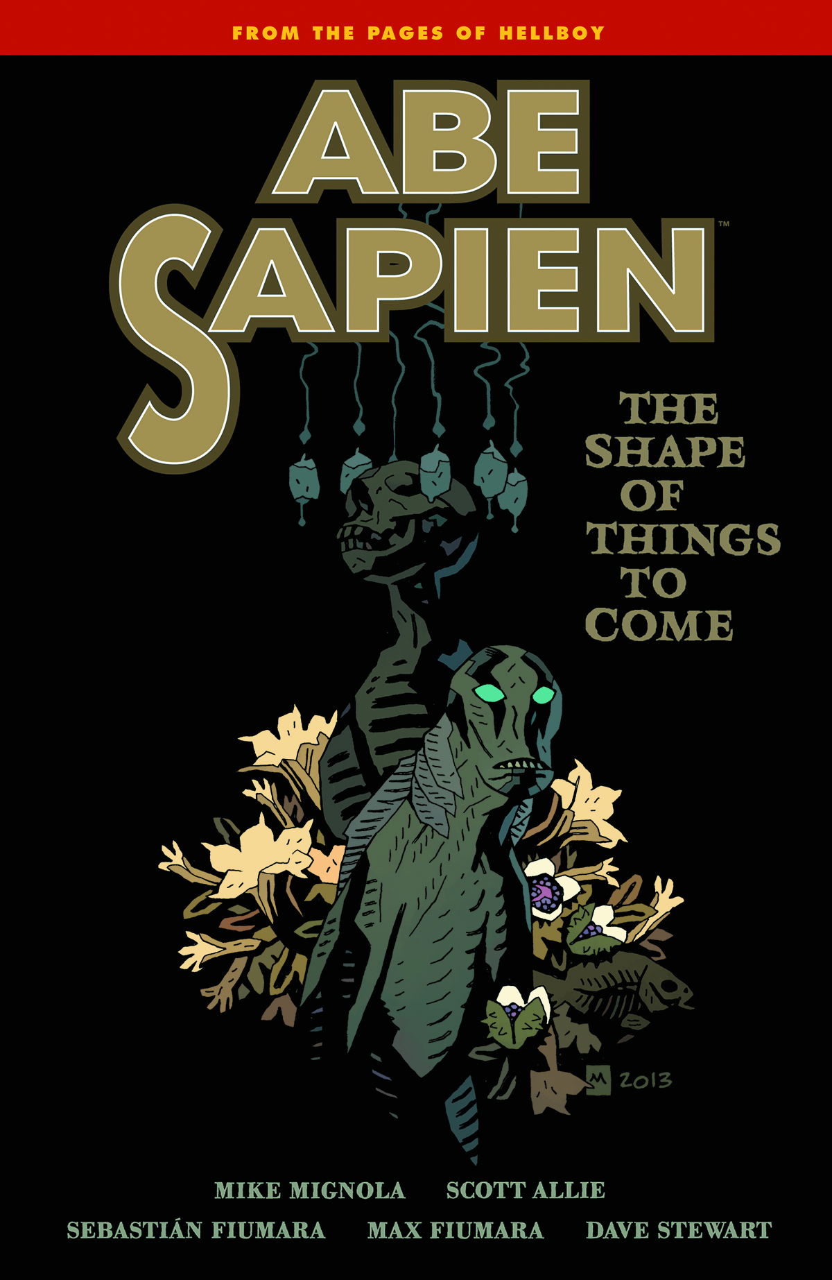 ABE SAPIEN TP VOL 04 SHAPE THINGS TO COME
