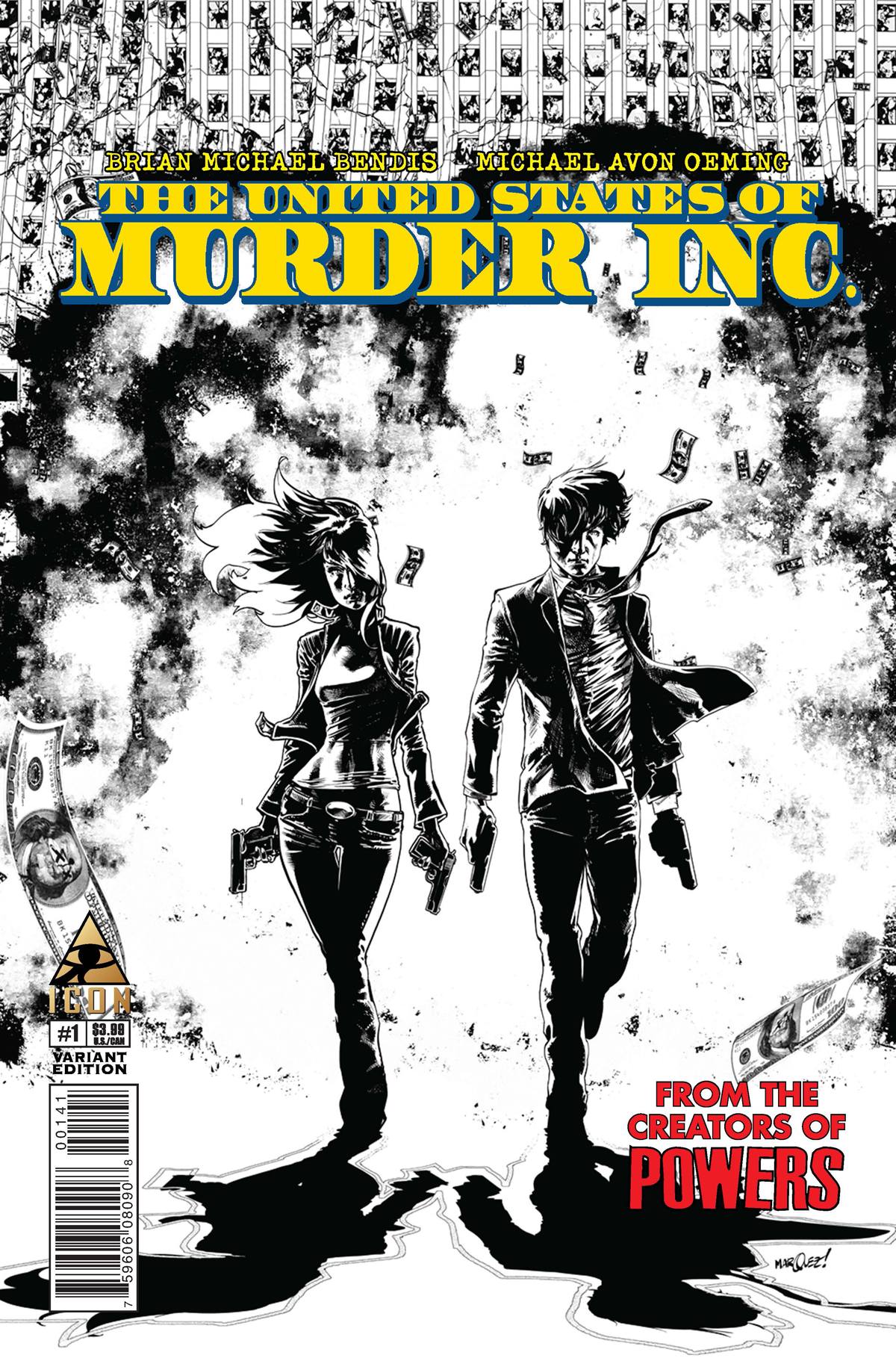 UNITED STATES OF MURDER INC #1 MARQUEZ VAR (MR)
