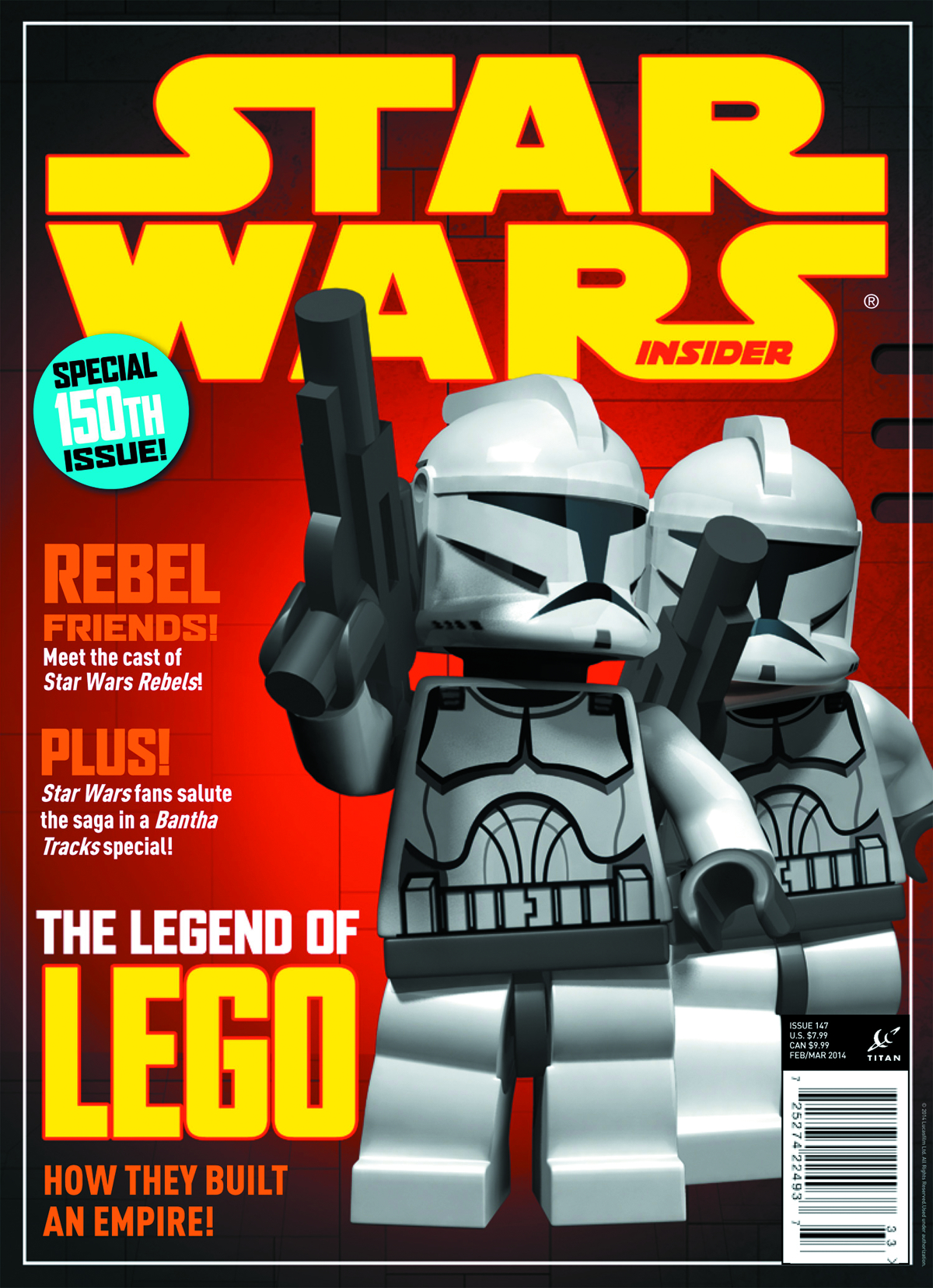 STAR WARS INSIDER #150 NEWSSTAND ED