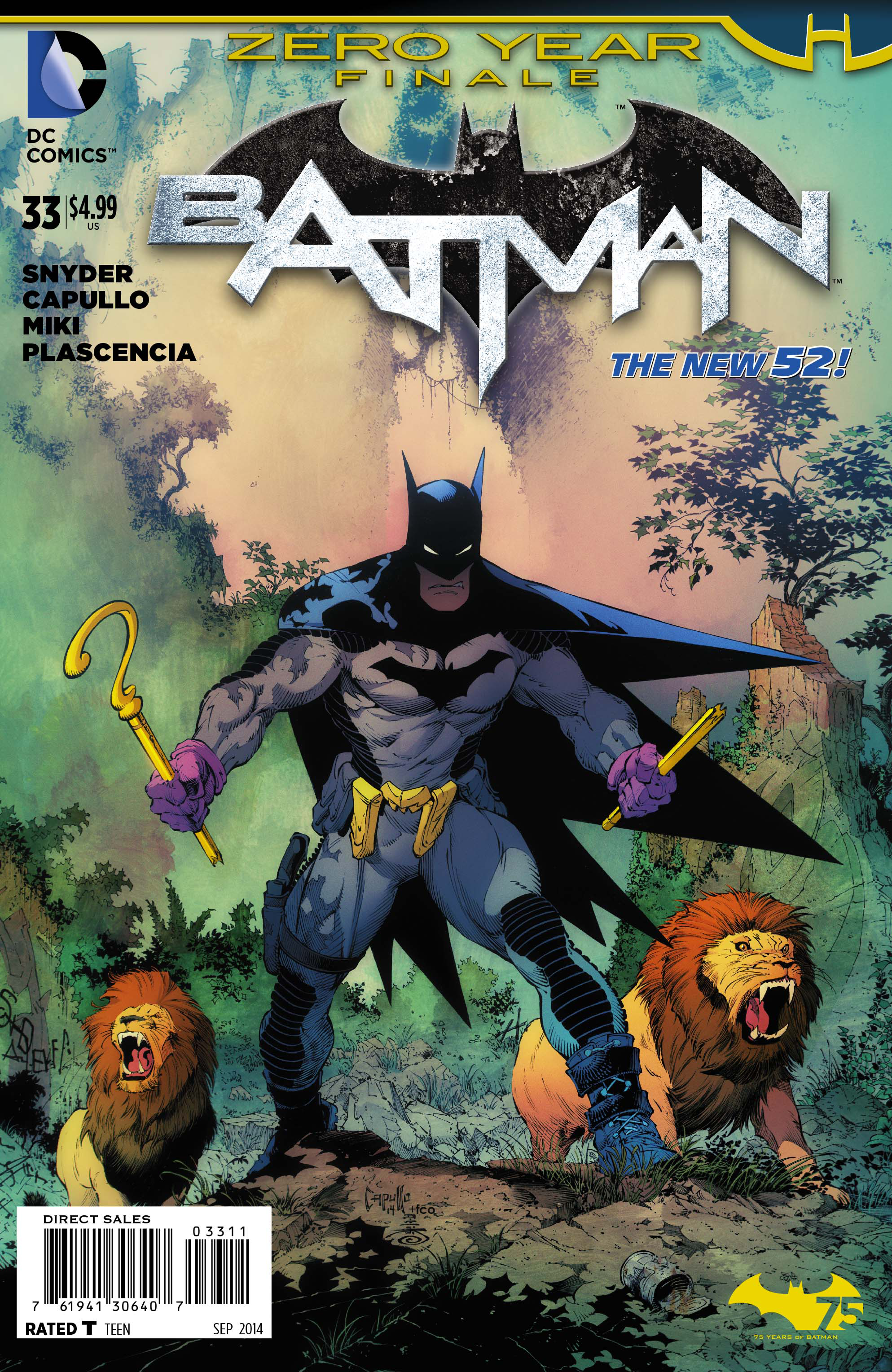 BATMAN #33 (ZERO YEAR) (NOTE PRICE)