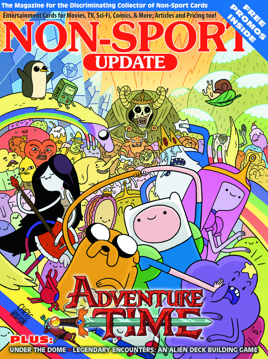 NON SPORT UPDATE VOL 25 #4 ADVENTURE TIME COVER