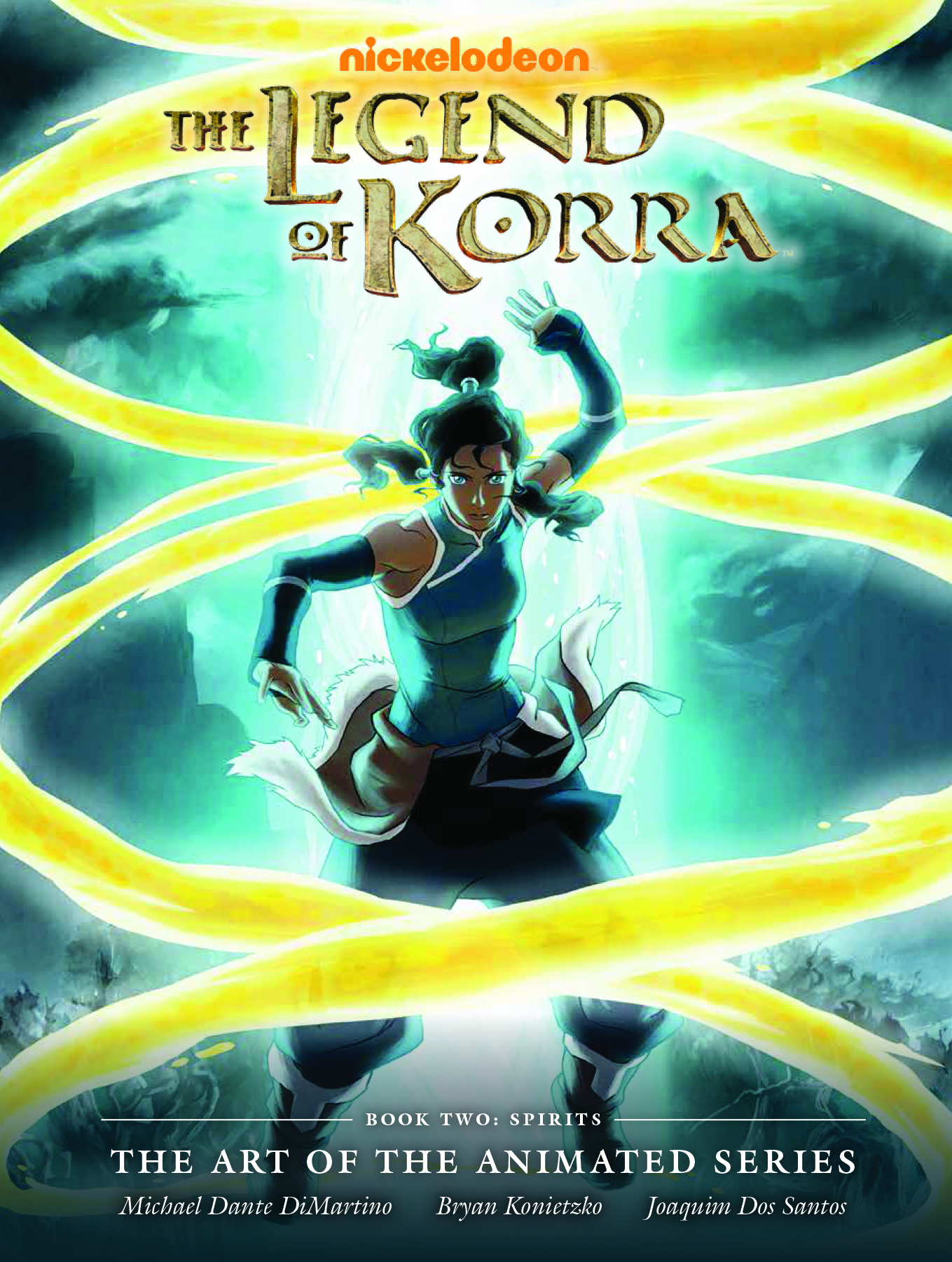 LEGEND KORRA ART ANIMATED HC BOOK 02 SPIRITS