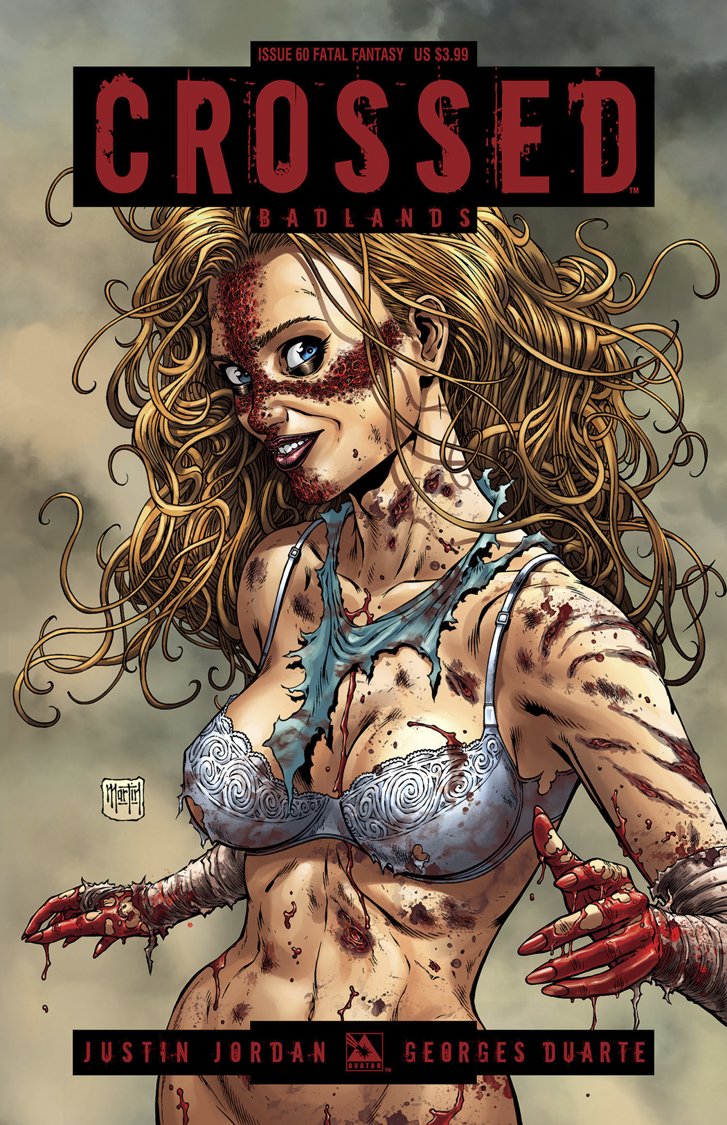 CROSSED BADLANDS #60 FATAL FANTASY CVR (MR)