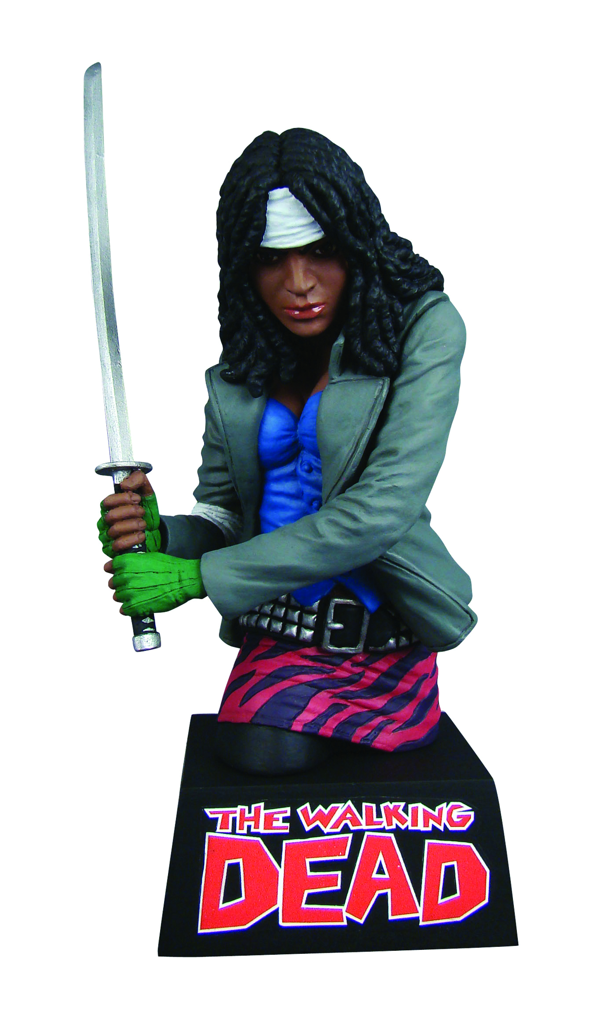 WALKING DEAD BUST BANK MICHONNE