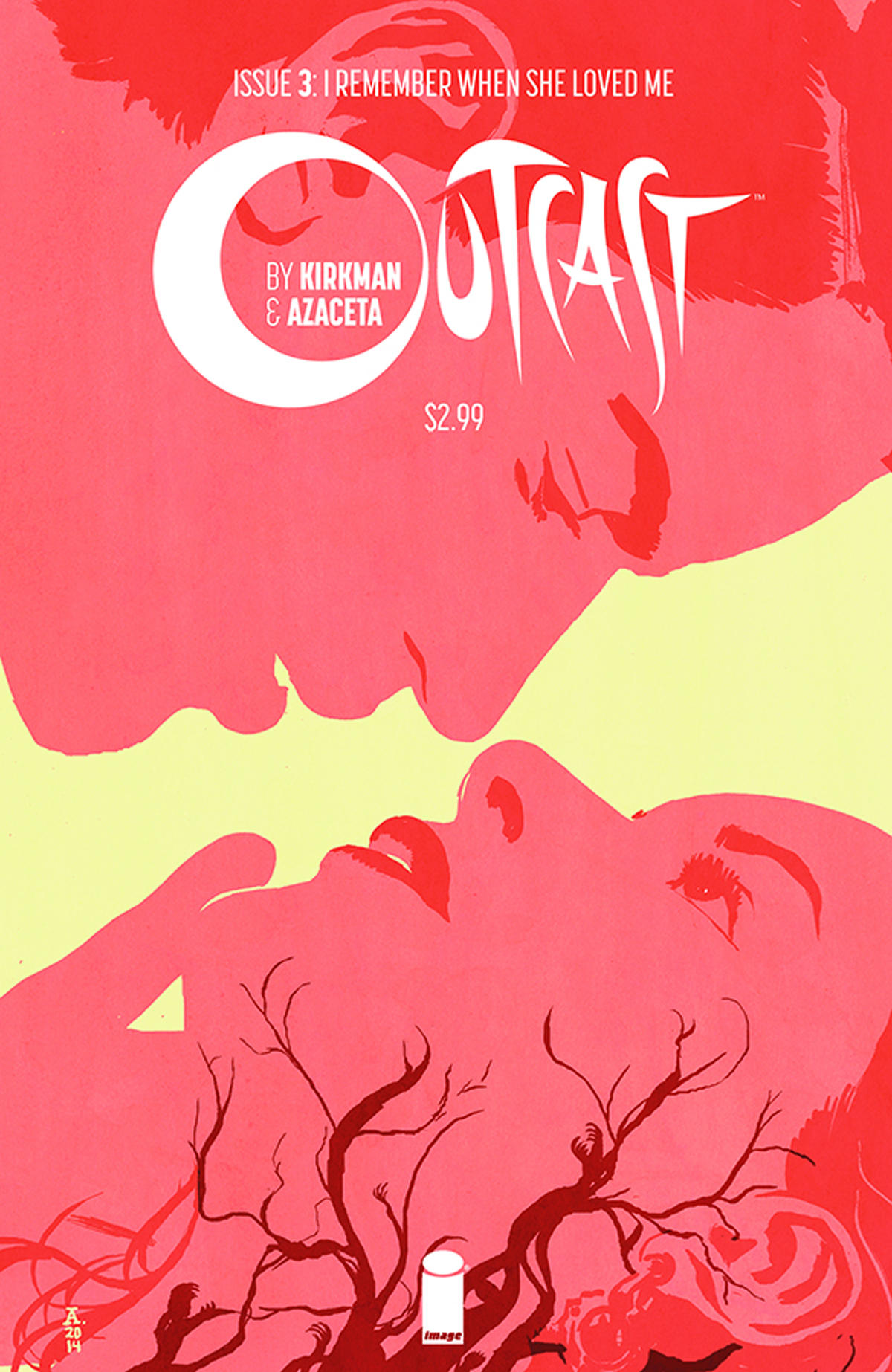 OUTCAST BY KIRKMAN & AZACETA #3 (MR)