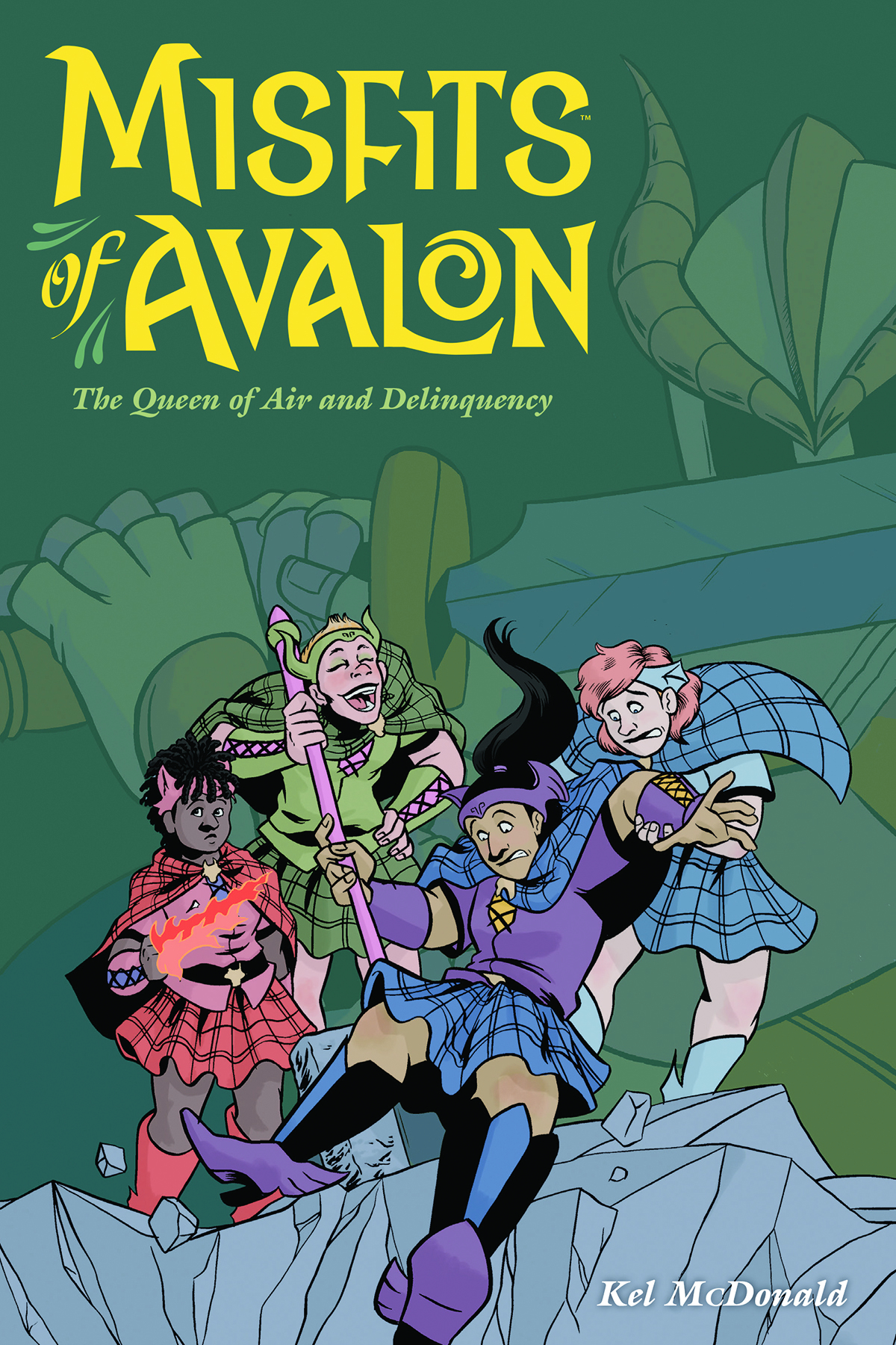 MISFITS OF AVALON TP VOL 01 QUEEN OF AIR AND DELINQUENCY (JU