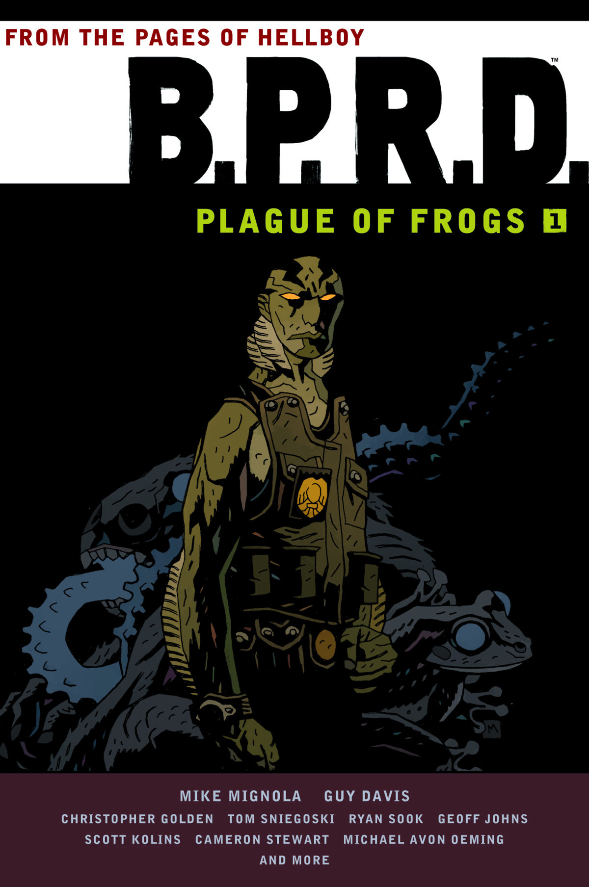 BPRD PLAGUE OF FROGS TP VOL 01 (JUN140016)