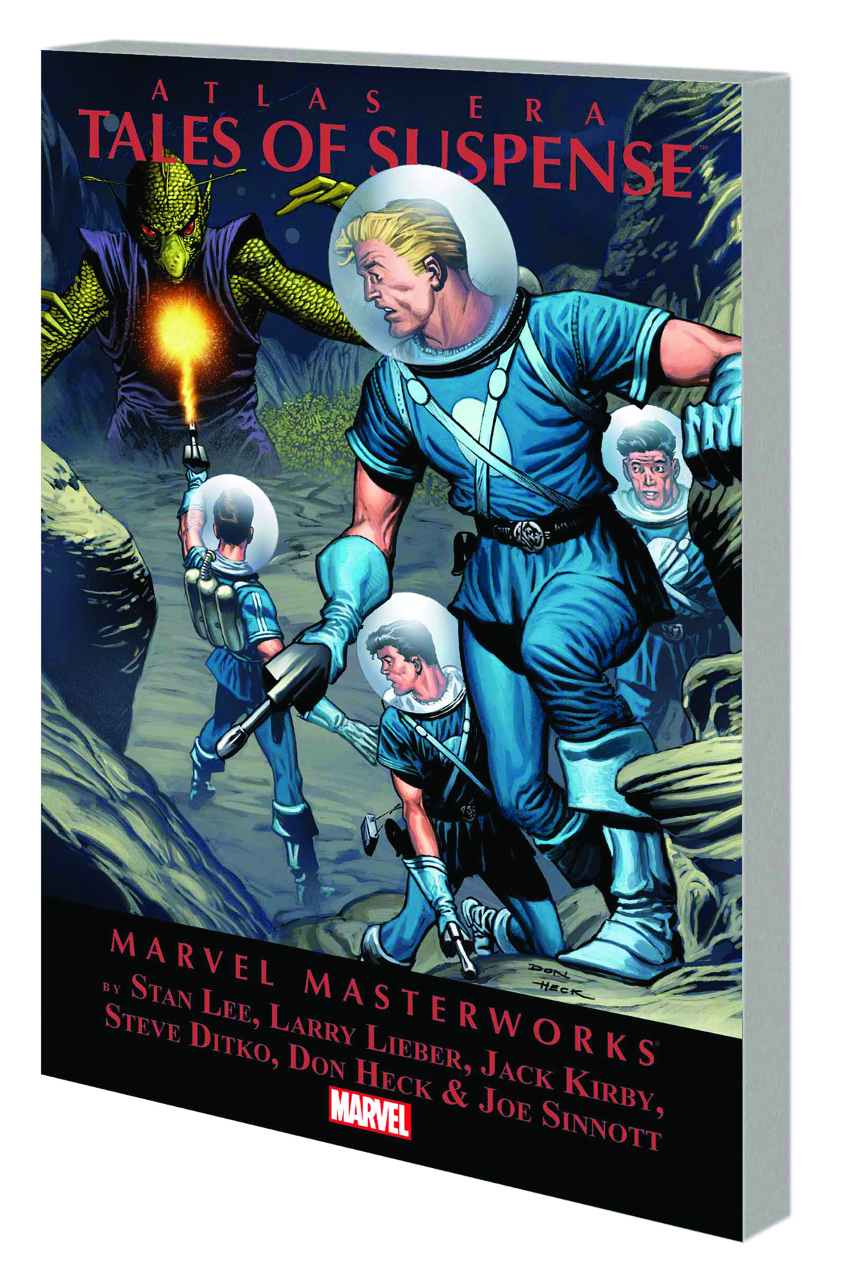 MMW ATLAS ERA TALES OF SUSPENSE TP VOL 01