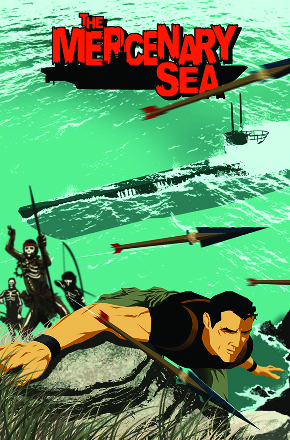 MERCENARY SEA TP VOL 01