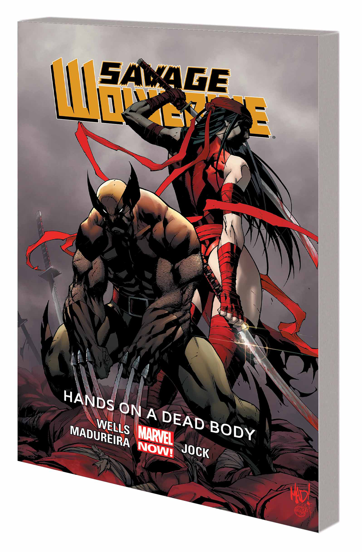 SAVAGE WOLVERINE TP VOL 02 HANDS ON DEAD BODY