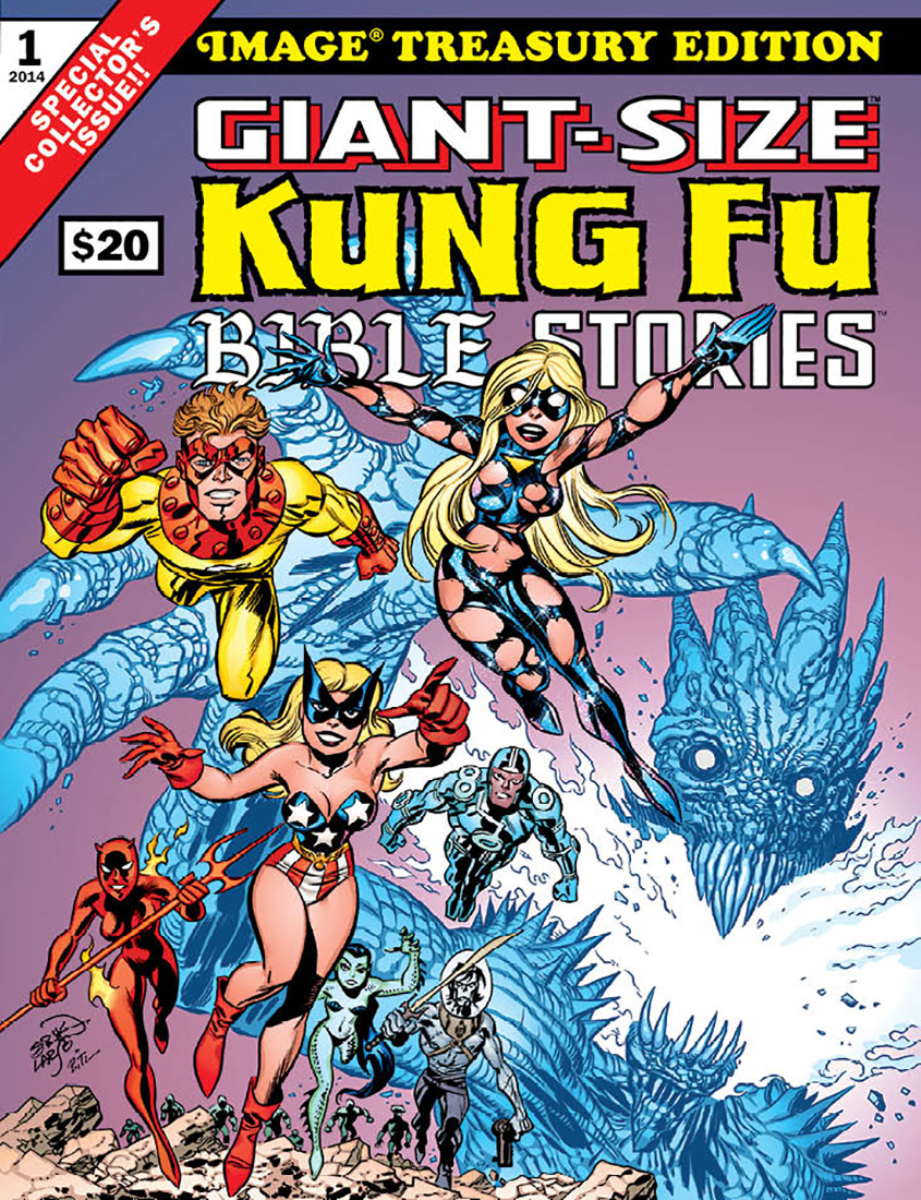 GIANT SIZED KUNG FU BIBLE STORIES (MR)