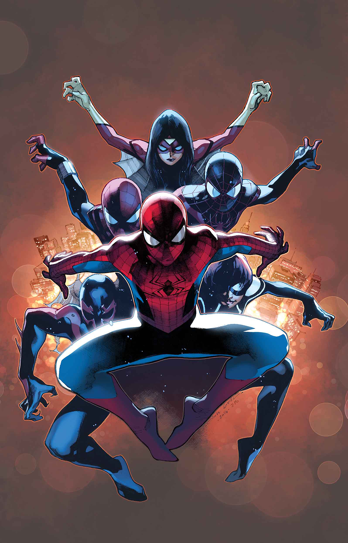 AMAZING SPIDER-MAN #9 SV