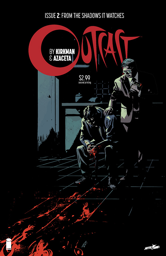 OUTCAST BY KIRKMAN & AZACETA #2 2ND PTG (MR)